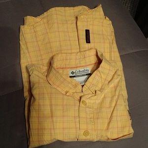 Columbia boy's short sleeve shirt